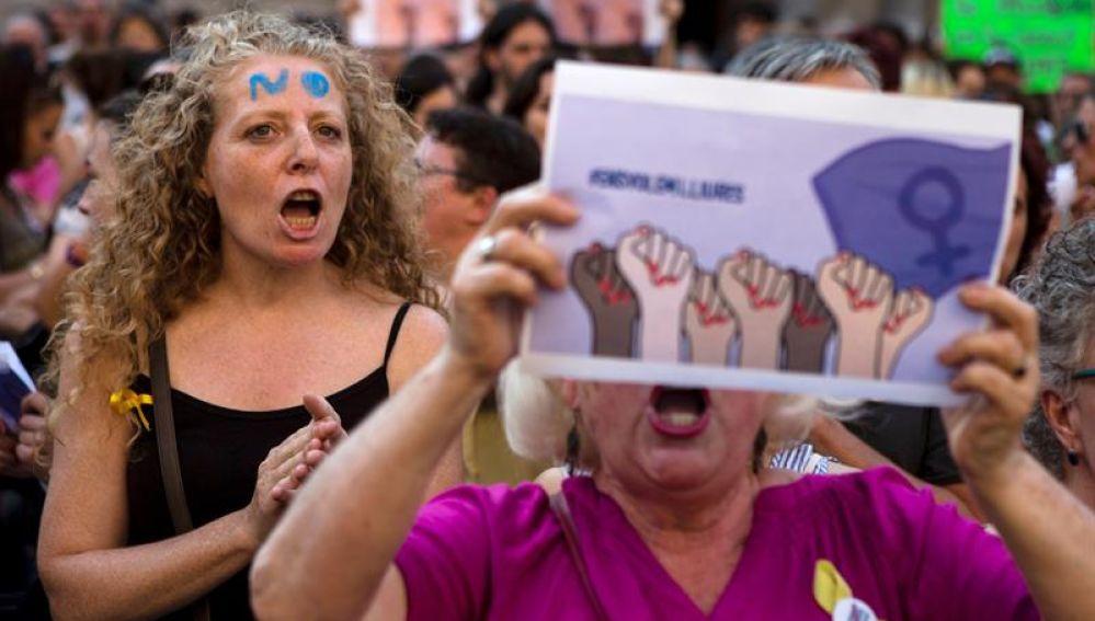 Protestas por la libertad a 'La Manada'