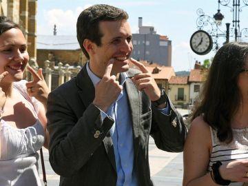 Pablo Casado, candidato a la presidencia del Partido Popular