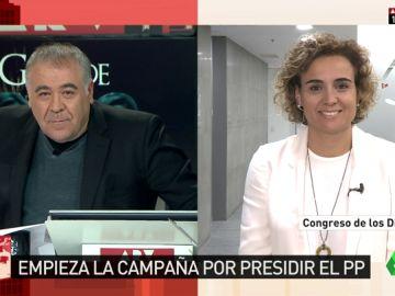"""Montserrat, portavoz de la candidatura de Cospedal: """"Se ha partido la cara por los afiliados en los momentos complicados"""""""