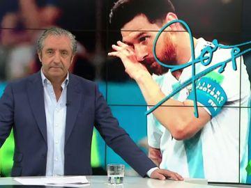 """Josep Pedrerol: """"Messi, Argentina pide que por un día. Por un solo día. Te parezcas a Maradona"""""""