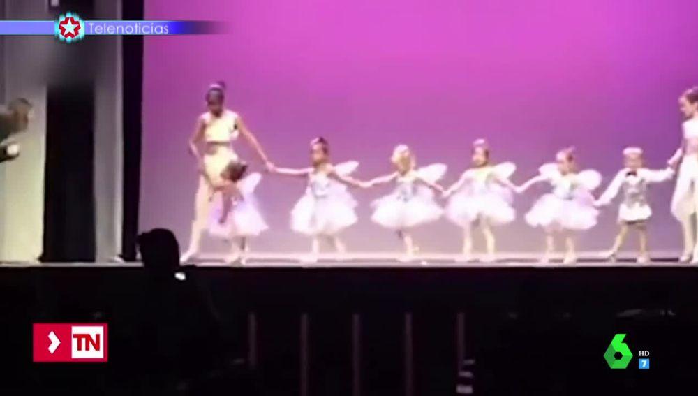 La tierna decisión de un padre al ver llorar a su hija en una función de ballet que logra reblandecer el corazón de Quique Peinado