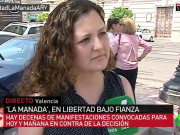 Anna Gimeno, portavoz de 'Alerta Feminista'