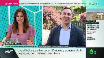José Ramón García-Hernández, precandidato a la Presidencia del PP