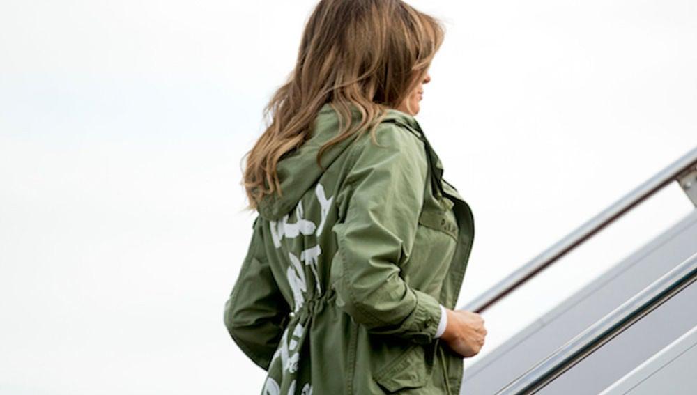 mensaje que chaqueta la de el dice SEXTA TV Trump polémico de LA RxnC6q0aR