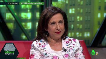 La ministra de Defensa Margarita Robles