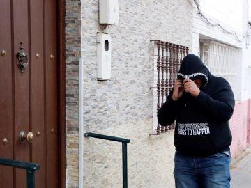 Vivienda del barrio sevillano de Amate donde reside José Ángel Prenda