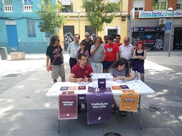 Mesa de 'Vallekas decide'