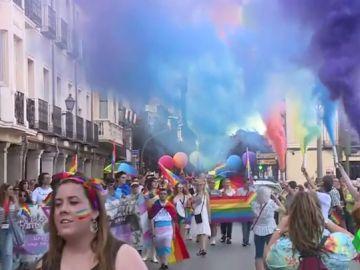 Manifestación del orgullo LGTBI en Sevilla
