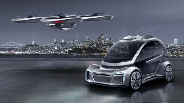 Audi hace pruebas con su taxi aéreo
