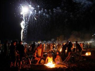 Imagen de archivo de la celebración de la noche de San Juan