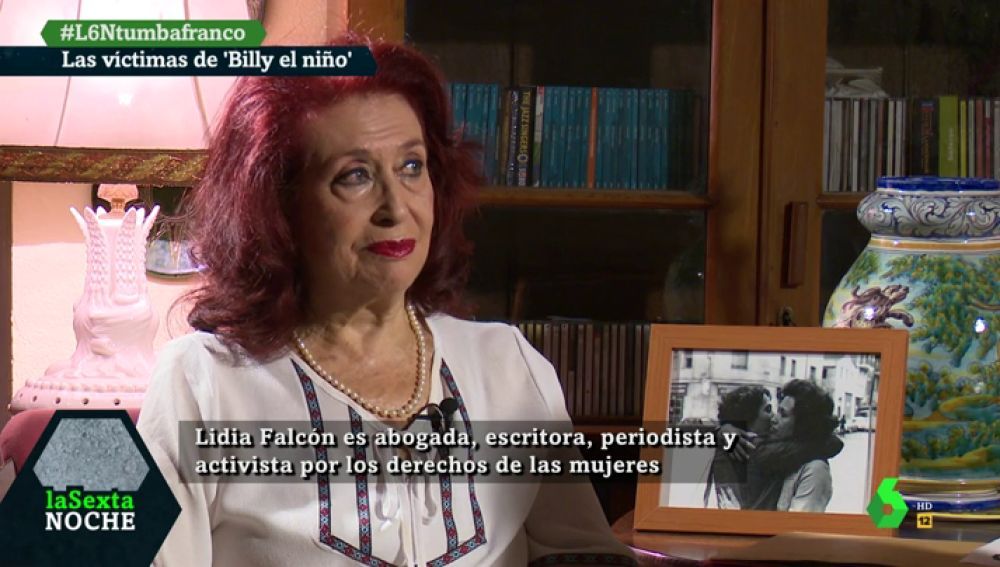 Lidia Falcón, activista por los derechos de las mujeres