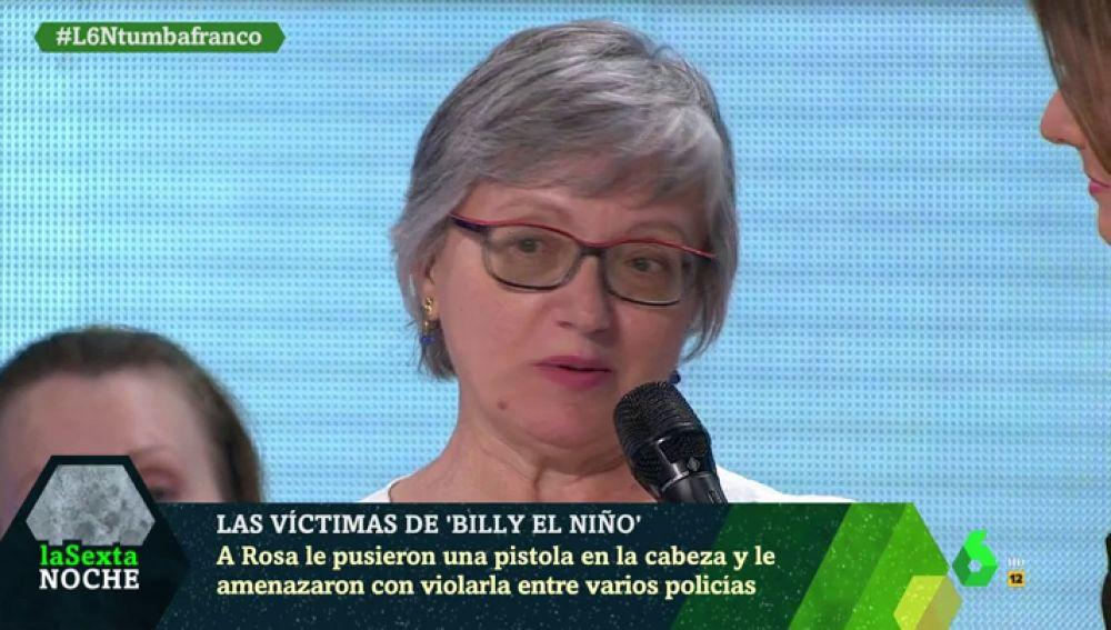 Rosa María García, víctima de torturas