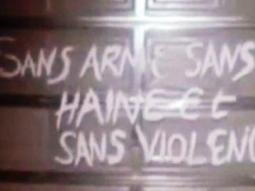 El mensaje que dejaron los ladrones en el robo del siglo en Niza