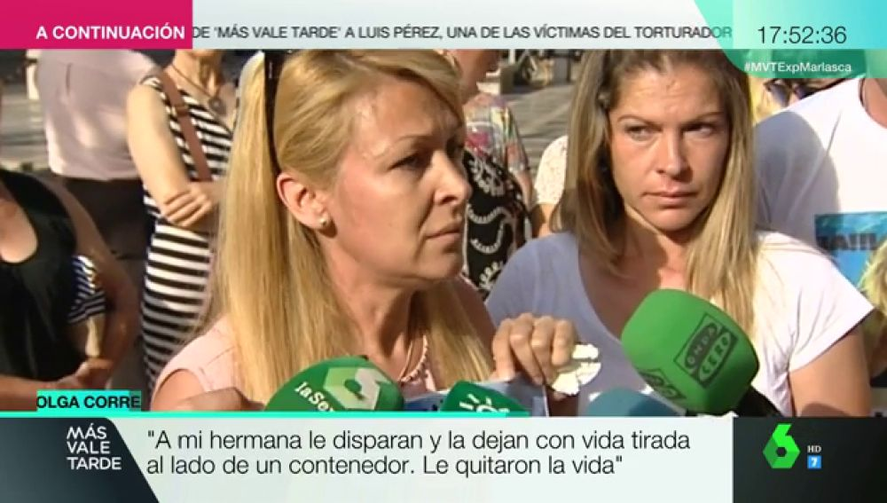 """Habla la hermana de la mujer asesinada y abandonada en un contenedor por su exmarido en Granada: """"¿Dónde queda su dignidad?"""""""
