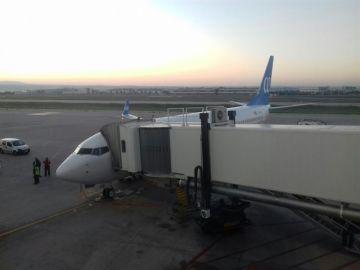 Imagen de archivo de una pista de aterrizaje