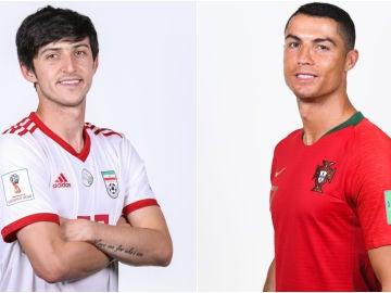 Irán vs Portugal en el Mundial de Rusia