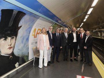 Imagen de la estación de metro Atocha que pasará a denominarse 'Estación del Arte' en homenaje a los principales museos