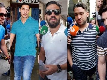 Los miembros de 'La Manada'