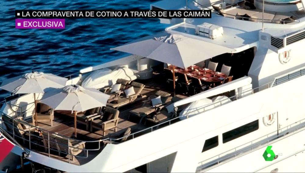 Vicente Cotino compró un yate de 6,3 millones a través de una sociedad en el paraíso fiscal de las Islas Caimán