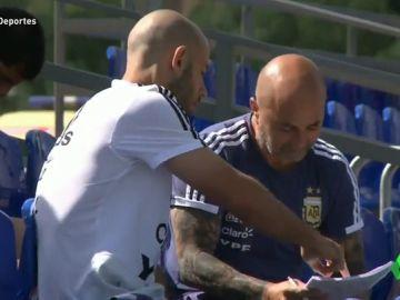 laSexta Deportes (25-06-18) La imagen entre Sampaoli y Mascherano que deja en cuestión la labor del técnico de la 'albiceleste'