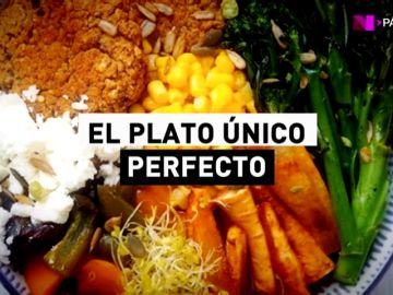 Este es el plato de comida perfecto: comida mediterránea sin carne, azúcares ni alcohol