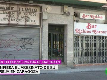 Un hombre asesina a su mujer en Zaragoza y se entrega a la Policía: la pareja tiene una hija de diez años