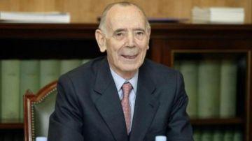 Jesús Cardenal Fernández, exfiscal general del Estado