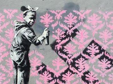 Una obra de Banksy en París