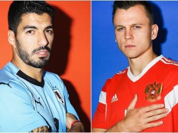 Uruguay vs Rusia en el Mundial 2018