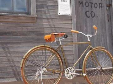 La última creación de Harley Davidson...una bicicleta vintage
