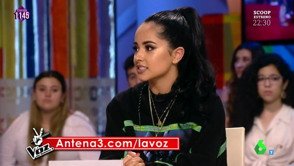 El consejo de Becky G a los participantes de La Voz