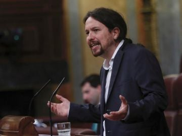 Pablo Iglesias en el Congreso