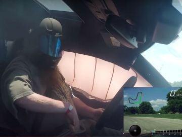 El gran susto de este piloto con su propio coche