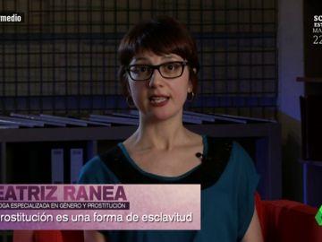 """Beatriz Ranea, socióloga experta en género: """"Cuando hablamos de prostitución no podemos hablar de un derecho sino de un privilegio masculino"""""""
