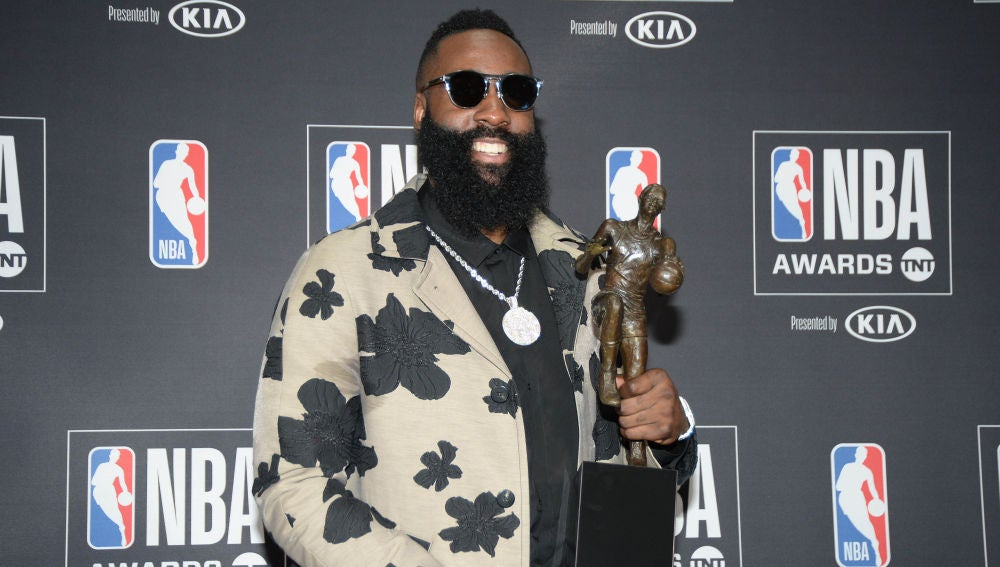 James Harden, MVP de la temporada 17/18 en la NBA