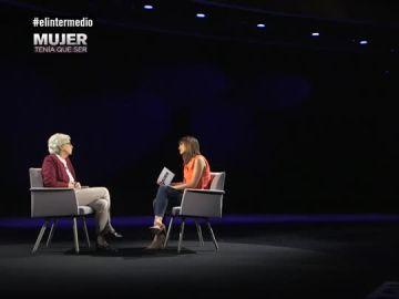 Sandra Sabatés junto a Soledad Gallego Díaz en 'Mujer Tenía que ser'