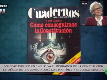 Soledad Gallego-Díaz publicó el borrador de la Constitución Española