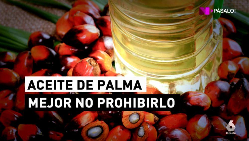 Prohibir el aceite de palma es una mala idea
