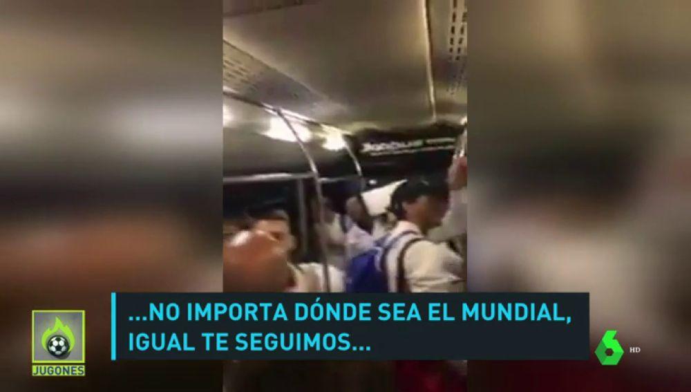 La euforia de los jugadores argentinos tras la victoria