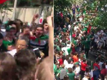 La locura en la embajada de Corea del Sur en México