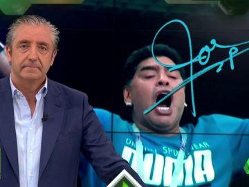 """Josep Pedrerol: """"Lo más importante es que Maradona está enfermo. Está enfermo y hay que ayudarle"""""""