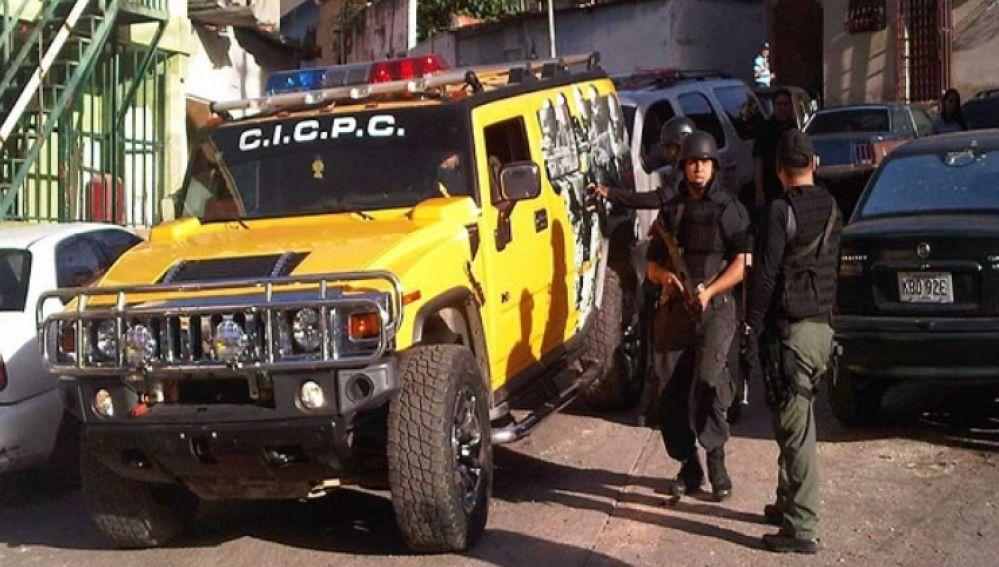Imagen de archivo del Cuerpo de Investigaciones Científicas, Penales y Criminalísticas (CICPC) en Venezuela
