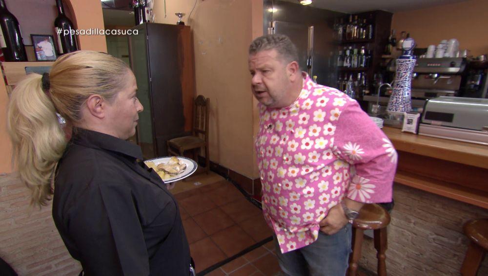 Alberto Chicote en Pesadilla en la cocina: La Casuca
