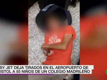Más de 50 niños españoles se quedan tirados en el aeropuerto de Bristol por la cancelación de un vuelo de Easyjet