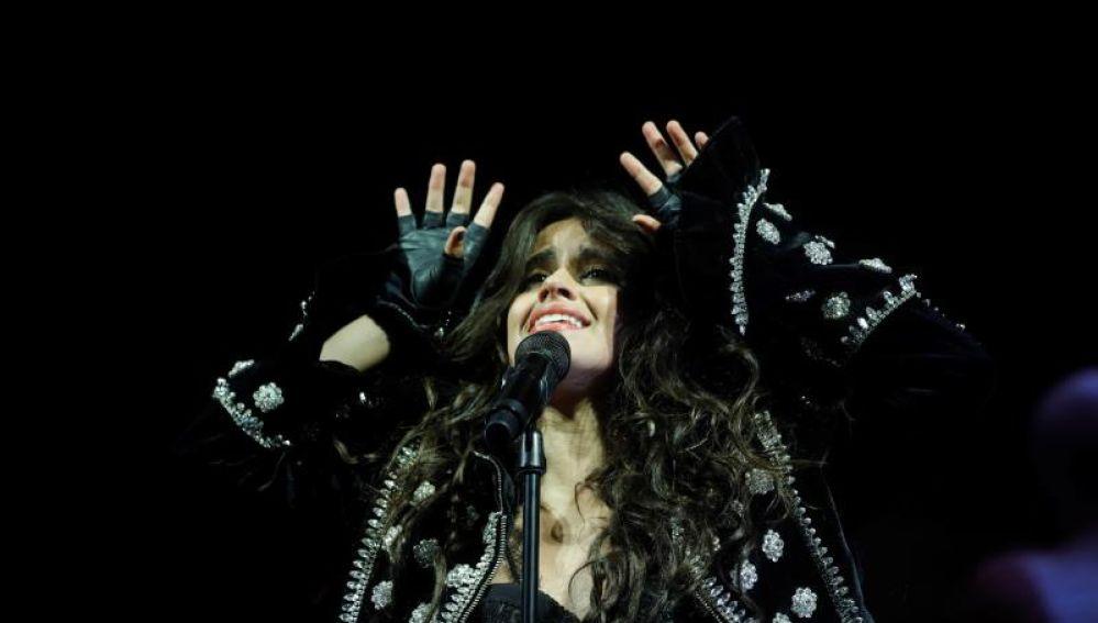 La cantante estadounidense de origen cubano Camila Cabello