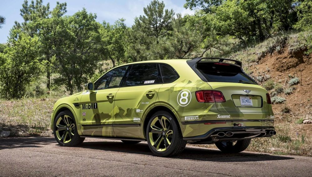 Bentley Pikes Peak Bentayga