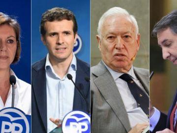 Cospedal, Casado, Margallo y García-Hernández