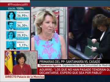 Esperanza Aguirre, en Al Rojo Vivo