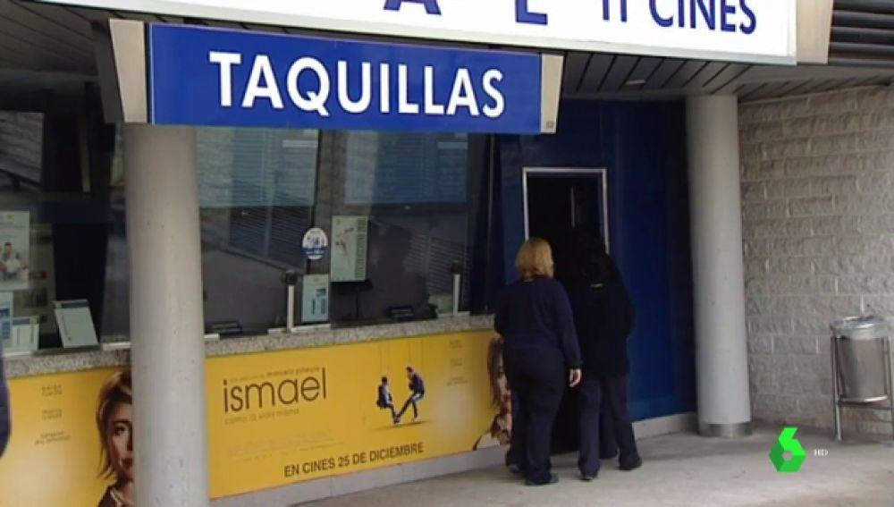 Taquilla donde se compran las entradas de cine