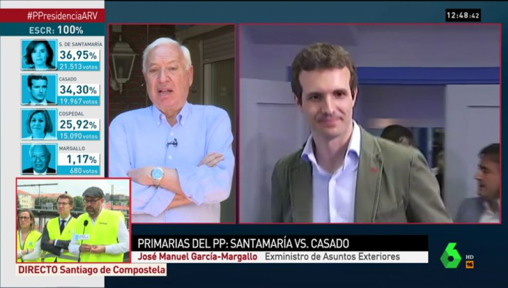 Margallo, en Al Rojo Vivo